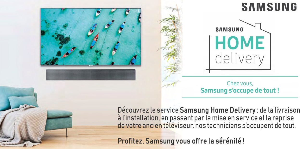 Samsung Home Delivery