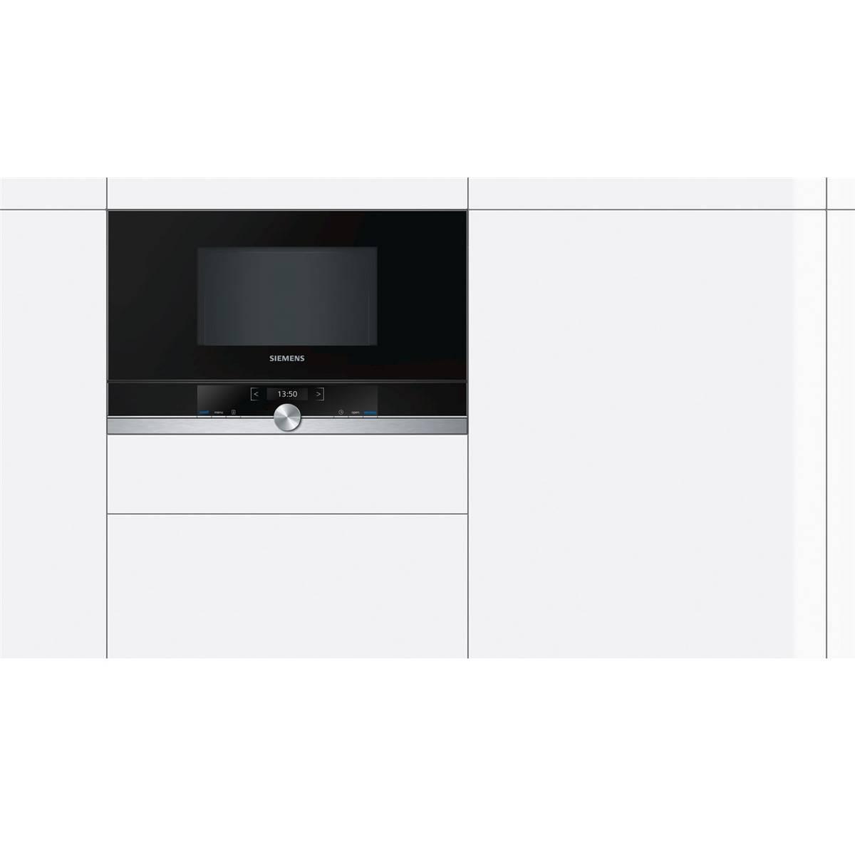micro ondes encastrable siemens bf634lgs1. Black Bedroom Furniture Sets. Home Design Ideas