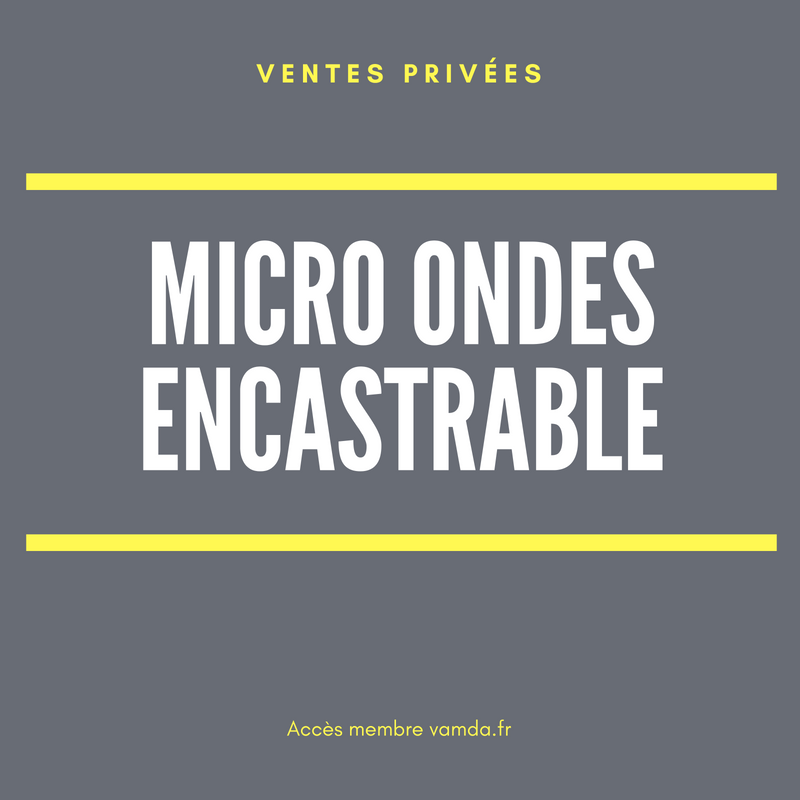 Micro ondes encastrable
